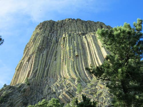 The Durrance/Ramp area of Devils Tower