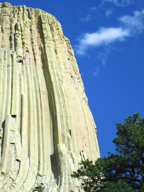 West Face of Devils Tower