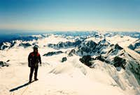 Summit of Mt. Tasman 1986