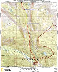 Swift Creek Topo Map 1