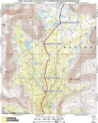 Swift Creek Topo Map 2