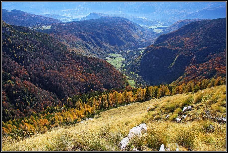 Voje valley from Zgornji Tosc