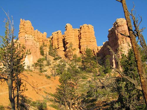 Near the bottom of Fairyland Canyon
