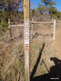 Sign post