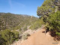 Through the piñon and juniper