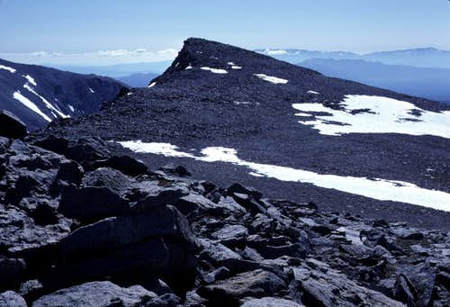 Summit Plateau From West