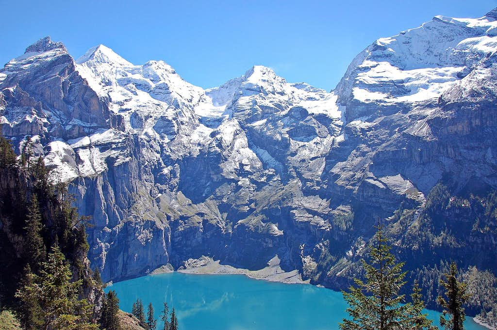Oeschinensee, Switzerland
