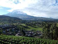 Chimborazo, Carihuairazo, and an Ecuadorian community