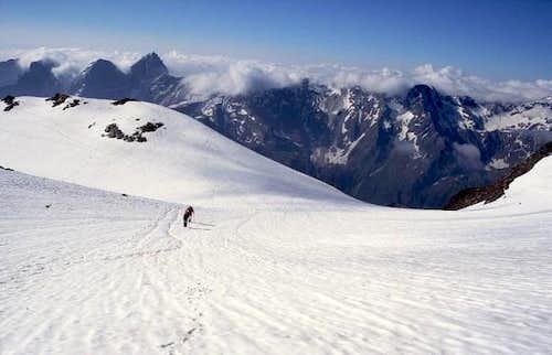 On the Habicht glacier,...