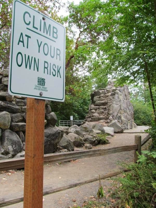 Climb at your own risk