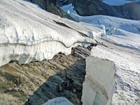 Crevasse Depths of the Glacier