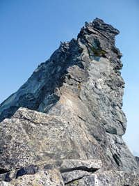 West Ridge Crux