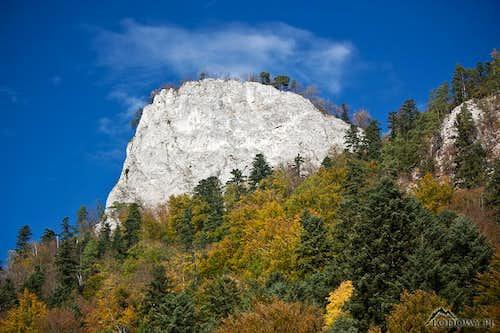 Sokolica in fall scenery