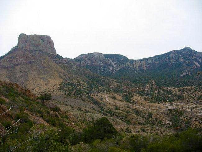 Casa Grande and Emory peak...