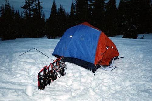 December, 2004 at Horse Camp...