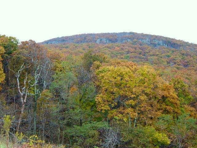 Mount Marshall has many rock...