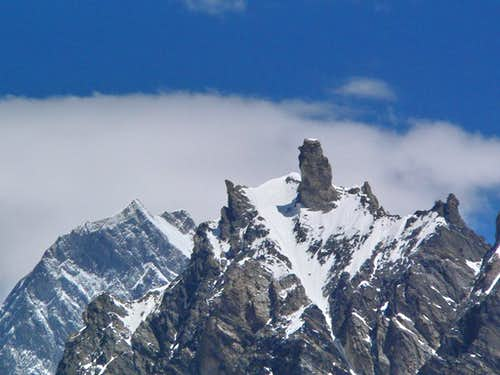 An 5000 meter Peak at Baltoro Glacier, Karakram, Pakistan