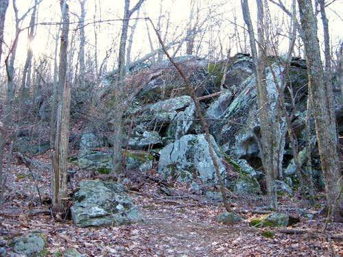 Along the rocky Appalachian...