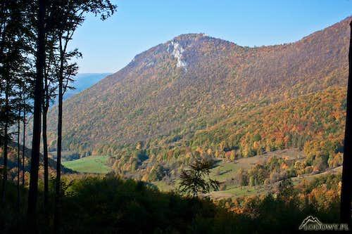 Muranska Planina fall scenery