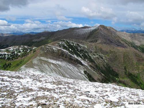 North Peak of Corrugate Ridge