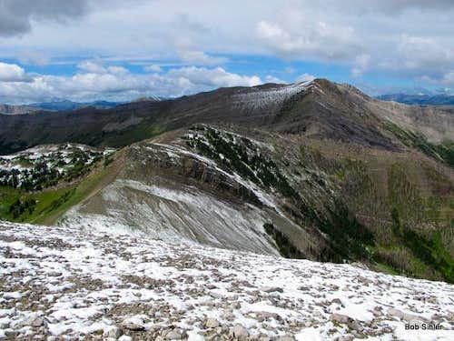 North Peak of Corrugate Ridge