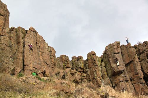 Crags at North Table