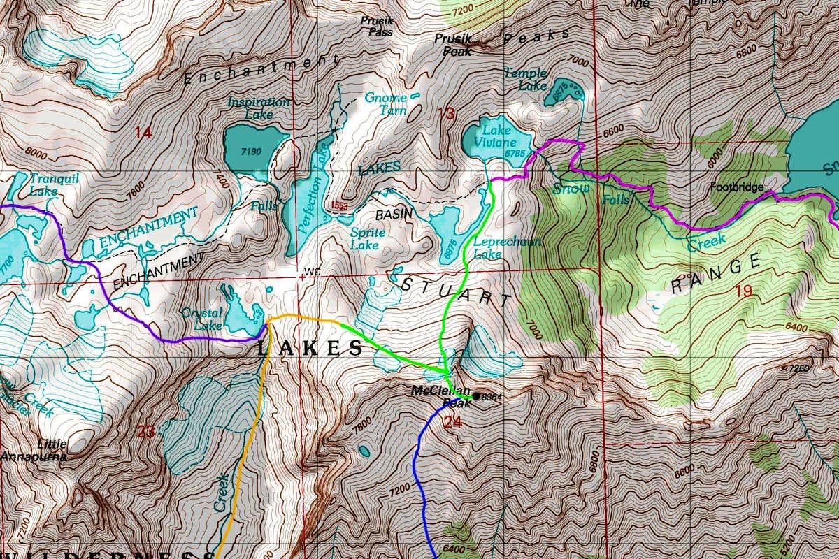 McClellan Peak (WA) : Climbing, Hiking & Mountaineering : SummitPost