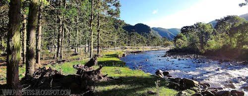 Canoas river...