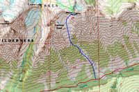 McClellan Peak South Map