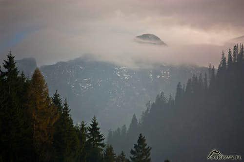 Misty Ladovy above Javorina