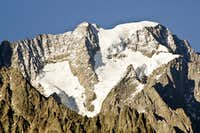 The Grandes Jorasses (4208m).