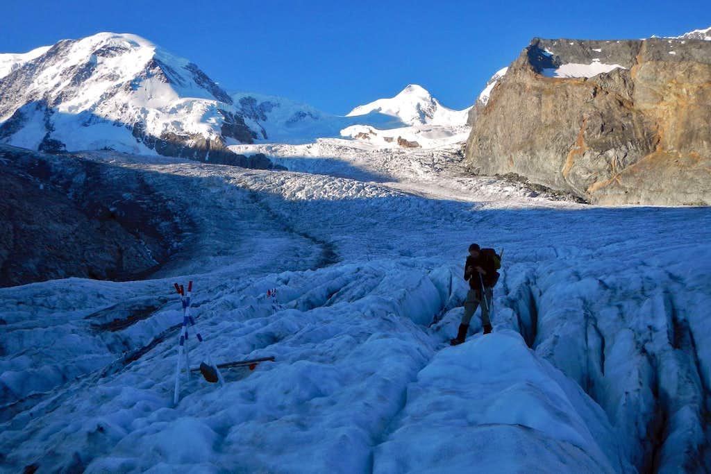 Lower Grenz Glacier