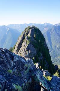 Western peak of Garfield West group
