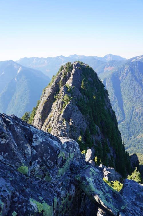 Western peak of Garfield West group