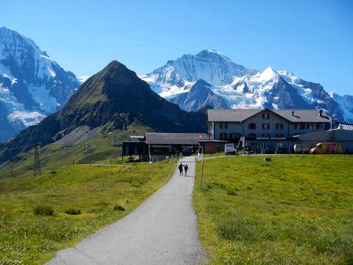 Tschuggen And Jungfrau