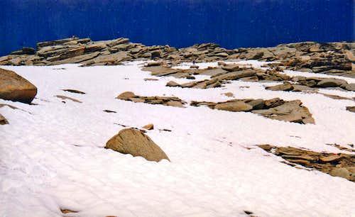 Ascending Alta Peak