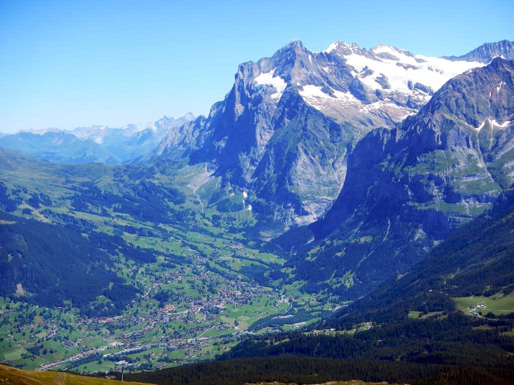 Wetterhorn Above Grindelwald