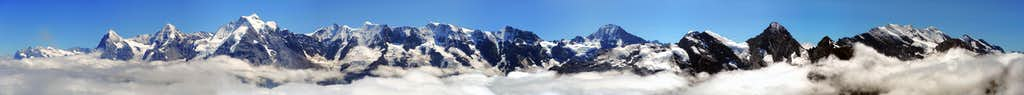 Schilthorn Summit Panorama
