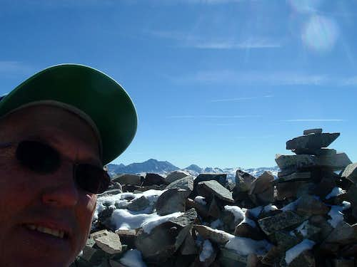 Mt Sopris West Summit Shot