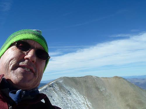 Mt Sopris East Summit Shot