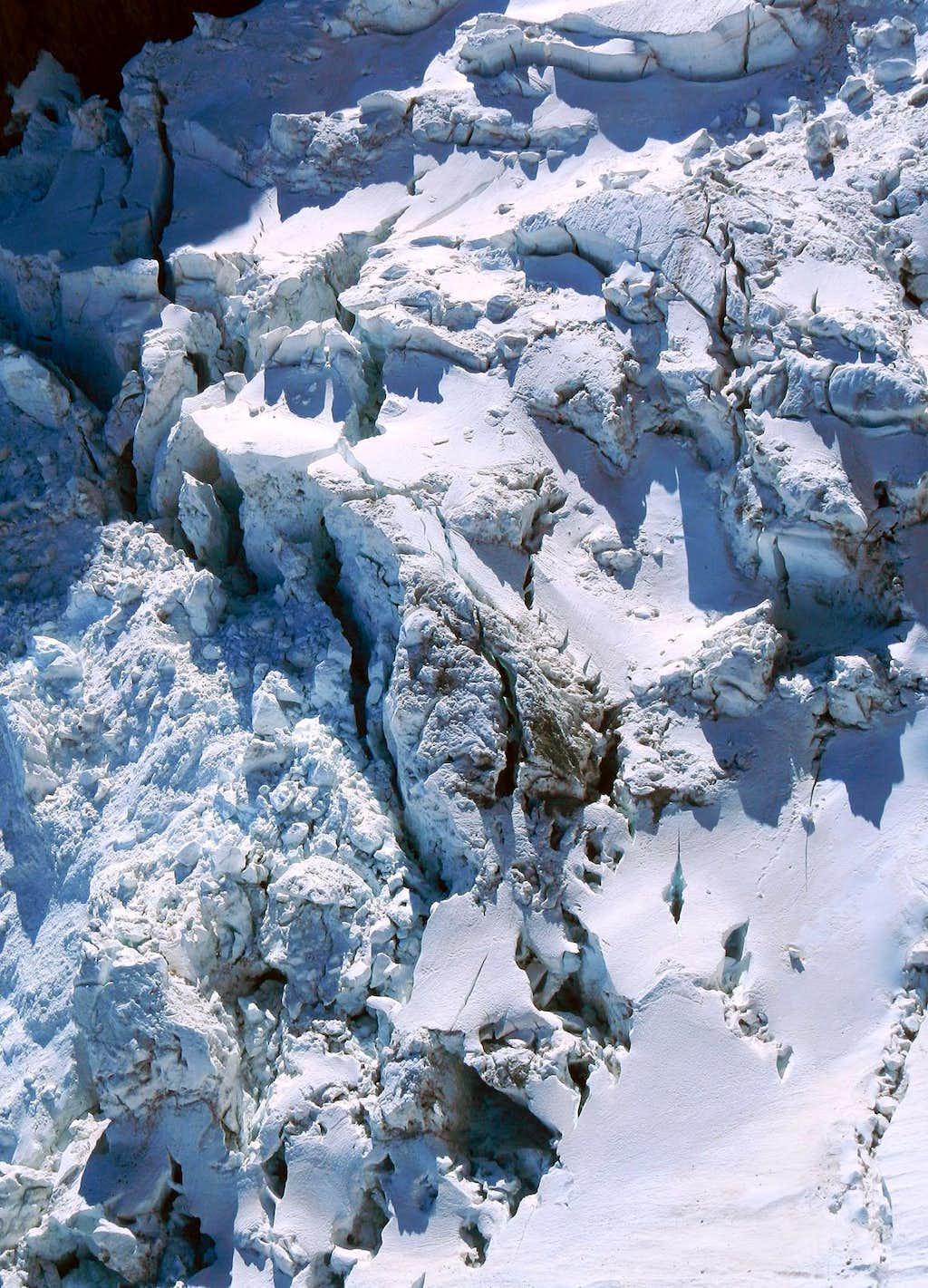 Klein Matterhorn Icefall
