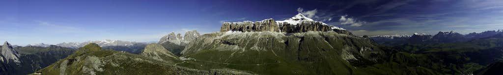 180° summit Panorama north