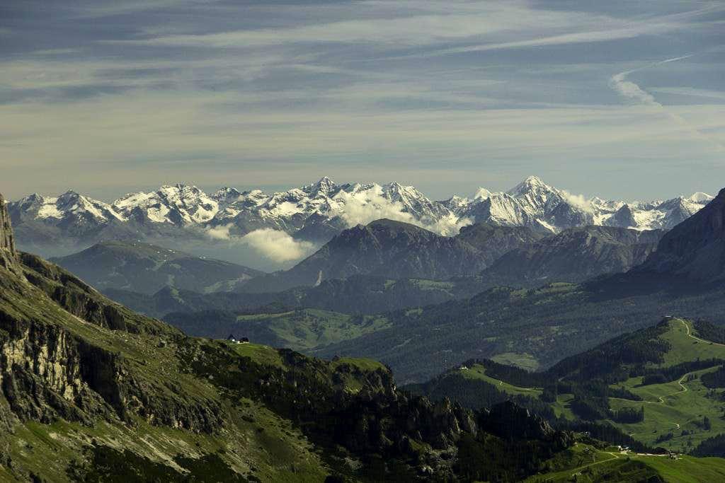 Zillertal Alps Main Ridge