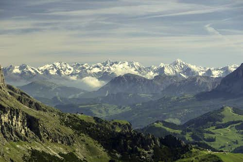 Zillertal Alps Main Ridge