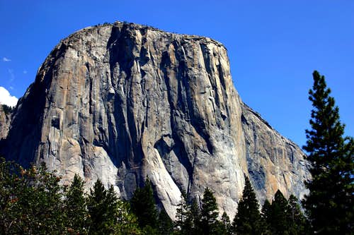 El Capitan SW face