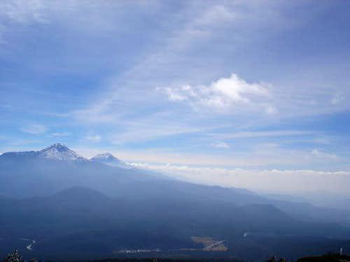 Magnificent view of Izta´s...