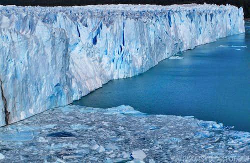 Walls of Perito Moreno