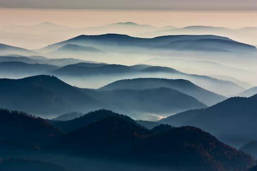 Slovenske Rudohorie horizons