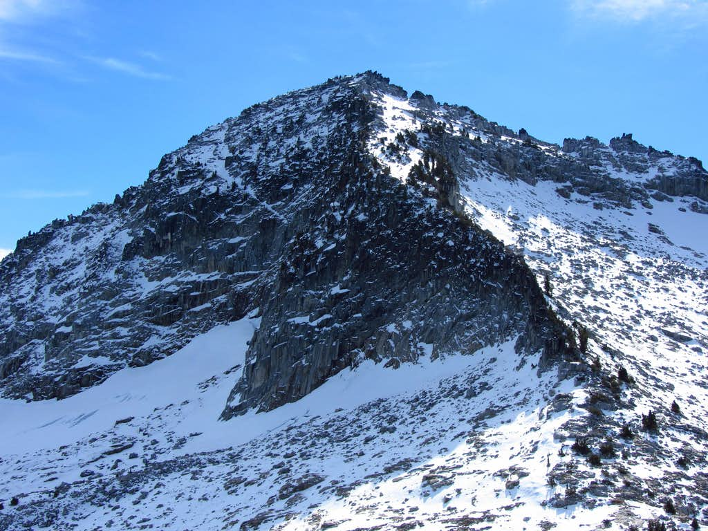 Caesar Peak north side