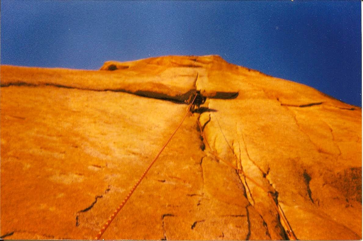 The Salathe, The Headwall, Pitch 31